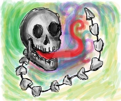 skeleton done by Calin-4