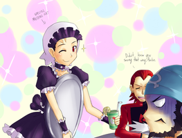 Maid Ruby by CyzirVisheen
