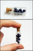 Nightlock Berries Bottle Charm by Bon-AppetEats