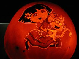 Pumpkin - Dora and Boots by snerk