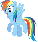Rainbow Dash Hovering (S04e04) by rblagdon7888