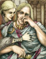 Arthur and Guinevere: color by ScottAronow