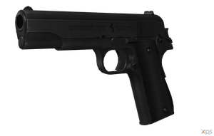 Black Colt M1911 by sadow1213