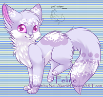 cat adopt -closed- by gold-adopts