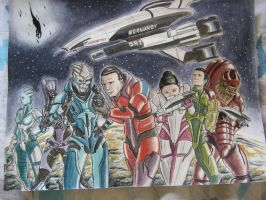 Mass effect color foto by celucrator