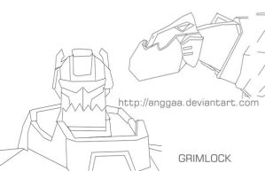 Grimlock Animated by anggaa