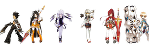 Elsword Team by GrayAngel15