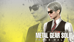 MGS: Peace Walker Wall. Dr. S by B4H