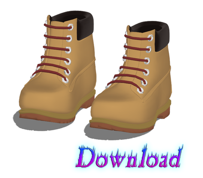 DOWNLOAD: Shoes - Boots Style 2 by DisastrousBunny