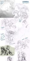 Sketch Dump 10 D: by Khezix