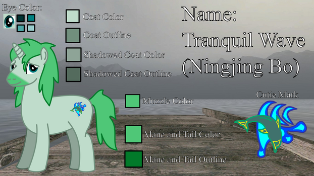 MLP Tranquil Wave Reference Picture by WildDancer101