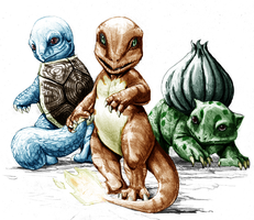Pokemans by Shuma