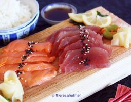 Sashimi Dinner by theresahelmer