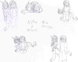 Brawn and Alpha Designs pt1 by SilverStar2