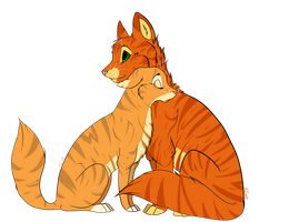 Firestar and Sandstorm by KZcat