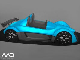 Track day car sketch by Morfiuss