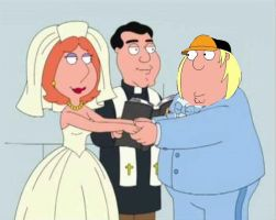 Chris Marrying Lois by Andresempe