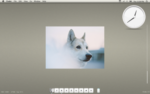 February 2012 OSX Desktop by twiggette