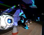 Nightmare and Wheatley at club by Zlobokot
