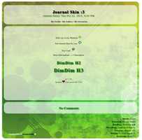 [ Simple Journal Skin V ] by Inconcabille