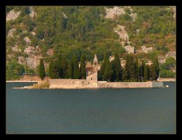 Sw. Dorde - Island In The Kotor Bay - Montenegro by skarzynscy