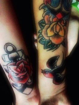 Tattoos by jessicore666