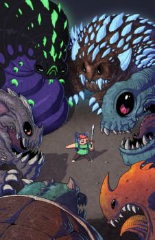 Monster of the Week - Issue 1 Cover by JoeHoganArt