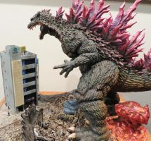 The Hazards of Yelling Godzilla's Name at Him by Legrandzilla