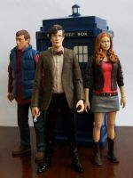 Doctor Who Rory Williams Amy Pond Action Figures by CraigOxbrow