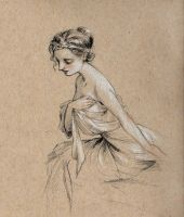 Sketch of a Woman by Lasarasu