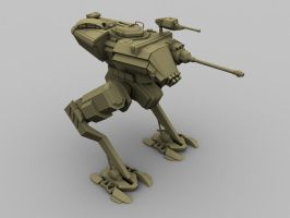 Pollux Scout Walker 1 by TheMightyZoidZilla