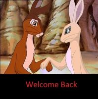 Welcome Back by CrispinVCampion