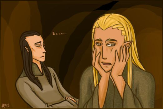LotR/S: Why is it always caves by Houkakyou