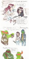 More Tmnt 2012-rp Doodles by Jivra
