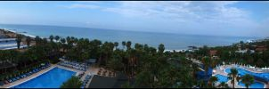 View From Hotel Meryan , Alanya ,Turkey by sparcosk