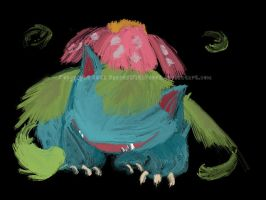 003. Venusaur by DancesWithFoxes