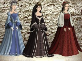Winter Queens by WhisperingWindxx