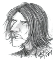 Snape-ity Snape by CrystallineColey