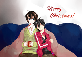 HaruShin Christmas by Krusnik03