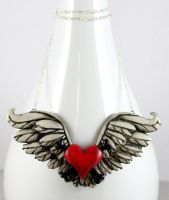 Toxic Angel Necklace by NeverlandJewelry