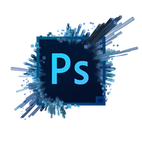 Photoshop CC splash logo by gerard-armando