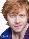 Rupert Grint - Drawing by Live4ArtInLA
