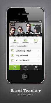 Music Band - iPhone app by inthel07