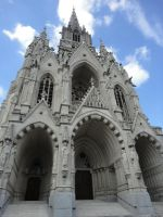Brussels Cathedral by amarie28