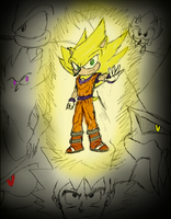 Sonic Z - Transformation into a True Hero by CCI545