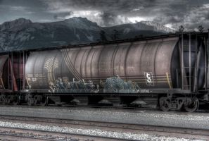 HDR Graff Trains Jasper by N1ghtf4ll3r
