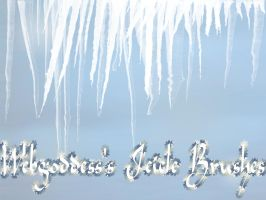 Icicle Brushes by webgoddess