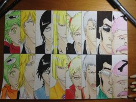 Bleach Visoreds by TheSassyFox