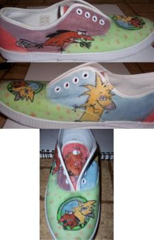 Angry Shoe by Krizteeanity