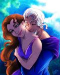 Rhiella and Terence by MistyTang